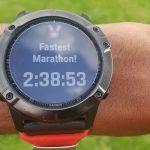 Fastest Marathon!