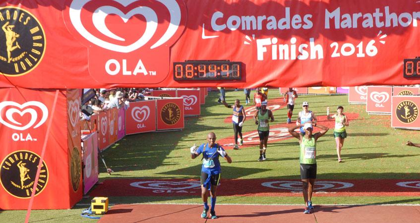 david-thuo-at-the-Comrades_2016_finish-line