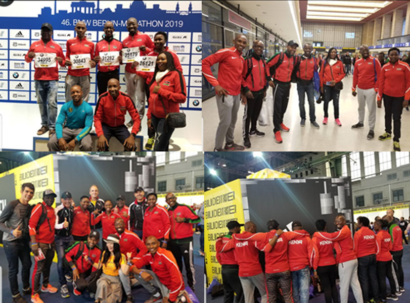 Team Run Fit Club Berlin Marathon Bib collection and Expo tour