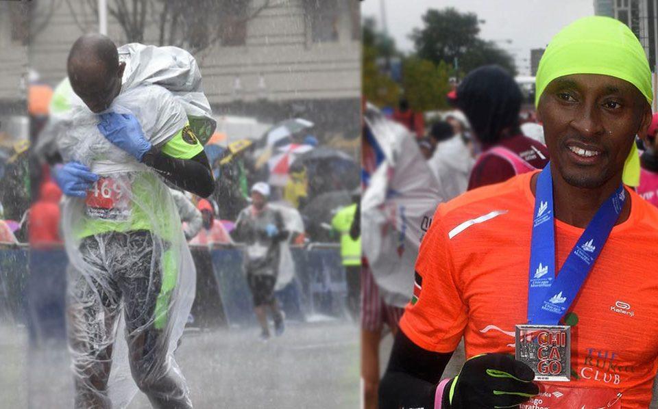Figure 16 Ero Maasai..Cultural run pre Chicago marathon