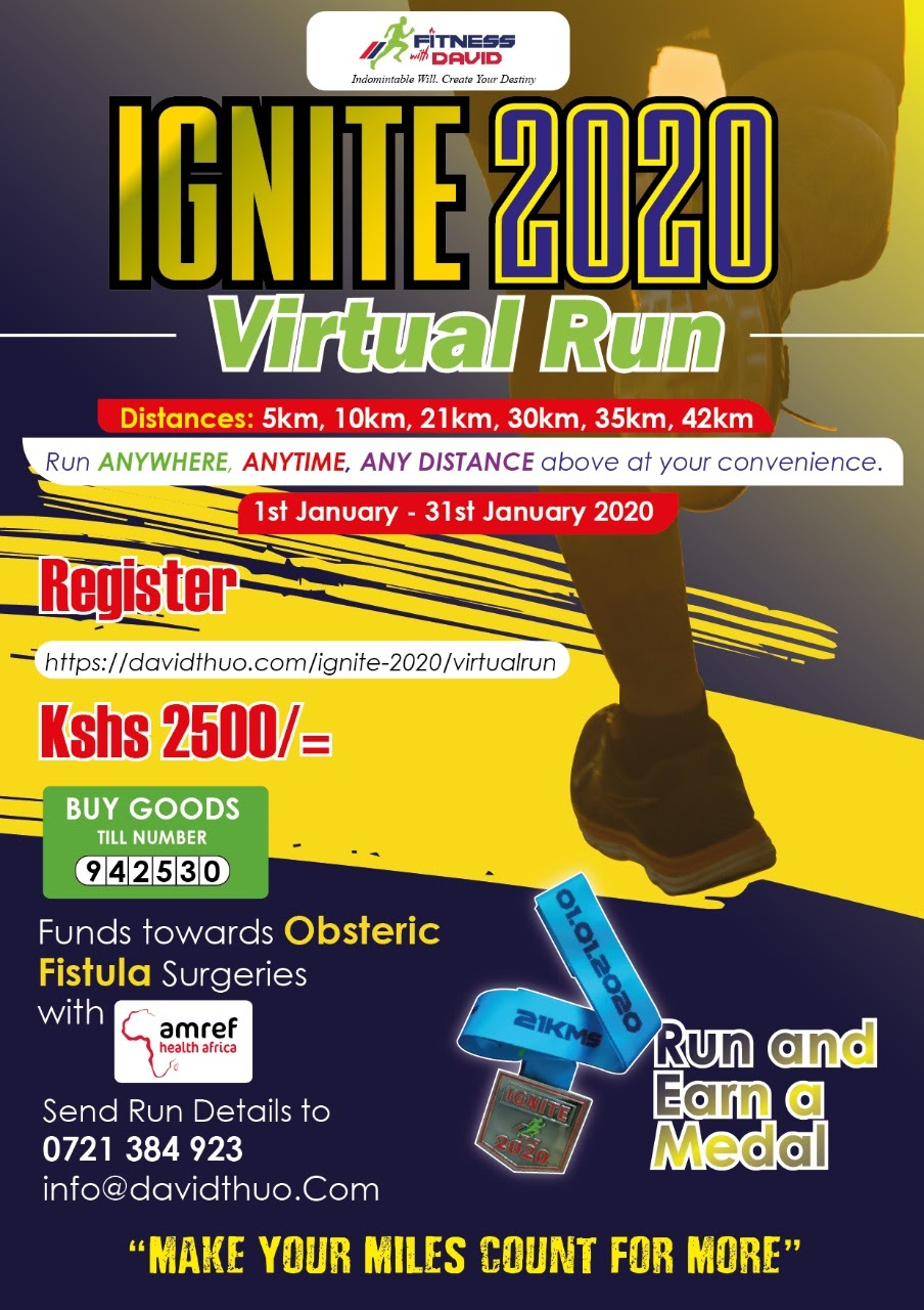 Ignite 2020 New year run - FitnessWithDavid